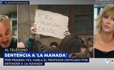 Susanna Griso estalla con el profesor que defiende a 'La Manada': «¿Me ha llamado 'Susanita'?, lo que me faltaba»