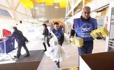 Los bancos de alimentos se citan en Valencia