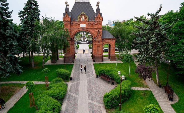 Ruta por Krasnodar, una joya del sur de Rusia
