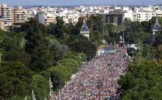 Calles cortadas por la Volta a Peu 2018 de Valencia