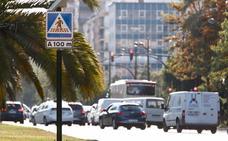 Los accidentes fuerzan a mejorar la señalización en la avenida del Cid