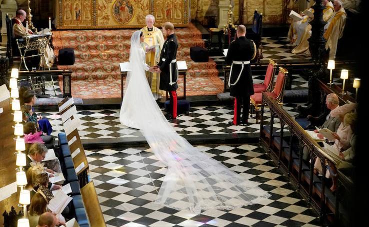 Los secretos del vestido de novia de Meghan Markle