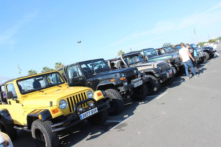 Los Jeep se destapan en Valencia