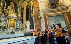 45 años de ronda de las tunas de Valencia a la Virgen de los Desamparados