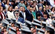Logroño acoge el desfile del Día de las Fuerzas Armadas