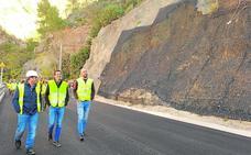 Los técnicos de la Politècnica constatan que la ladera de Cortes de Pallás ya es estable
