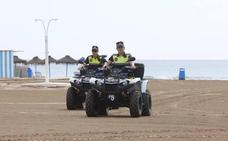 La Policía Local patrullará en la playa de la Malvarrosa también por las noches