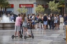 El Ayuntamiento de Valencia plantea aplicar la normativa de las bicicletas a los patinetes