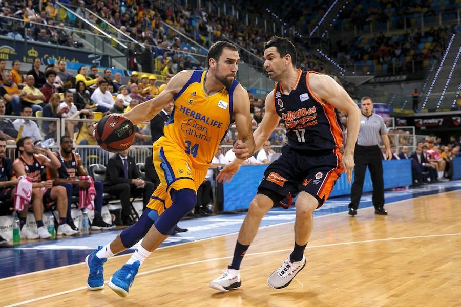 Fotos del Gran Canaria - Valencia Basket