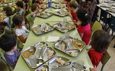 Nutricionistas valencianos alertan sobre los menús escolares