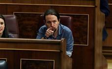 Pablo Iglesias pide a Sánchez que estudie la entrada de Podemos en el Gobierno si gana la moción de censura