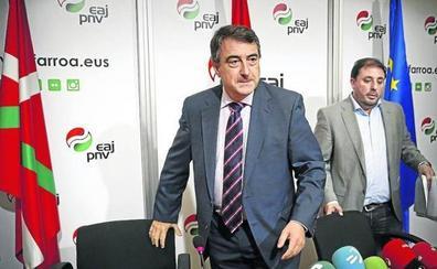 Los nacionalistas vascos decidirán su voto en la moción de censura tras escuchar a Pedro Sánchez