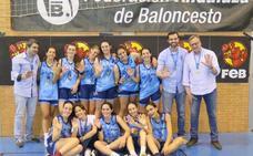 El cadete femenino de El Pilar concluye quinto de España