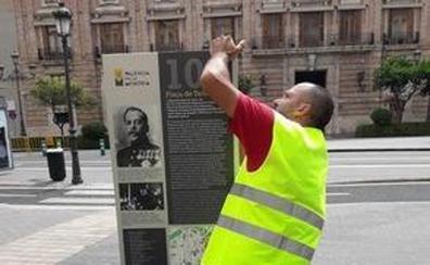El Ayuntamiento de Valencia instala monolitos informativos en siete enclaves de la Guerra Civil