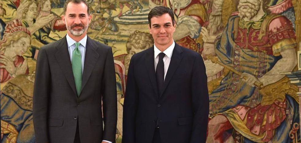Pedro Sánchez prometerá su cargo en la Zarzuela a las 11.00