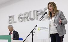 Susana Díaz advierte: «La Constitución sigue vigente»