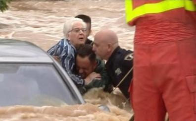 El consejo del padre bombero a uno de los héroes que salvaron a los ancianos