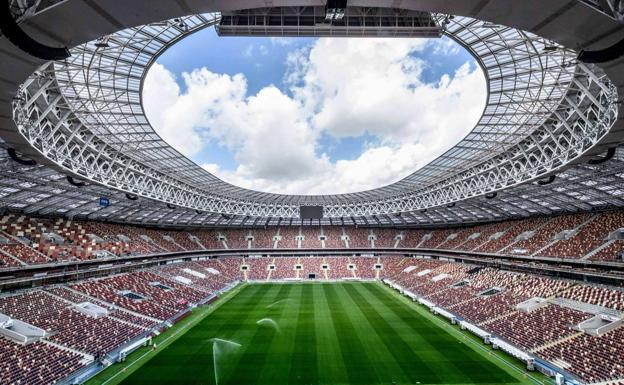 Estadio Luzhniki.