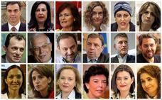 Todos los ministros del nuevo Gobierno