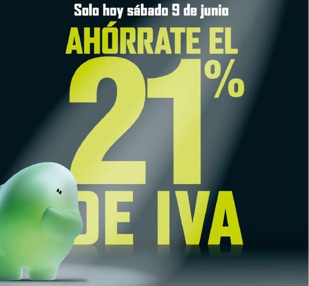 34fe987dc558 Día sin IVA El Corte Inglés e Hipercor | sábado 9 de junio ...