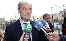 Camps destaca el «cambio de criterio del fiscal» para pedir el archivo de las actuaciones contra él por la Fórmula 1