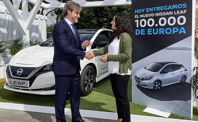 Cien mil Nissan Leaf ruedan en Europa