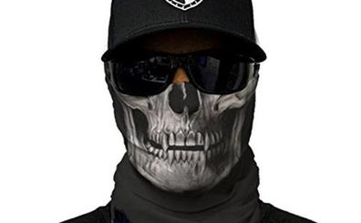 Atraco a punta de pistola con máscaras de calaveras y huida por la provincia de Valencia con la matrícula tapada