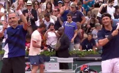 Ferrero gana el Roland Garros de los exjugadores
