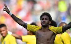 Brasil se gusta ante Austria con un hiperactivo Neymar como titular