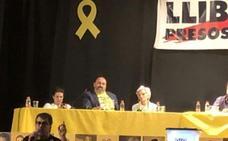 El secretario de Empleo participa en un acto por la libertad «de los presos políticos»