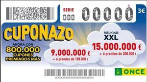 El cupón de la ONCE deja 200.000 euros en Elda y 100.000 en Elche en un Eurojackpot