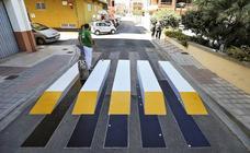 Paso de peatones 3D en Almussafes