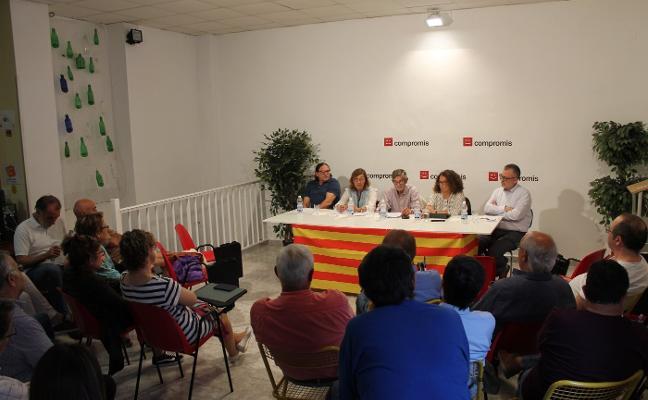 Cuatro aspirantes se disputan encabezar la candidatura de Compromís en las municipales