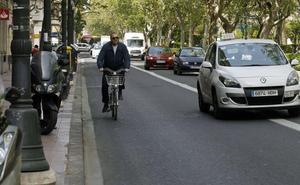 El carril bici de Fernando el Católico pasará por delante de las paradas de la EMT