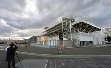 Antigua base del equipo Alinghi de la Copa América donde se acogerá a los 630 refugiados del Aquarius