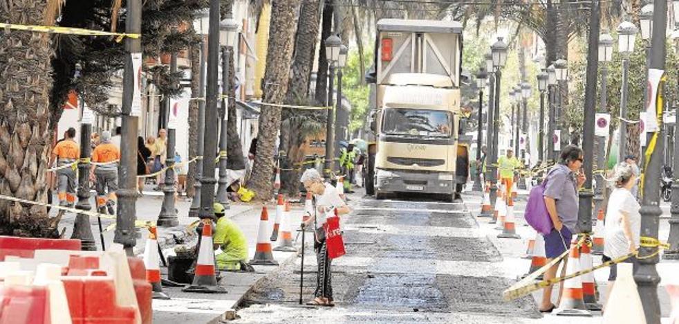 El Ayuntamiento de Valencia ultima la reforma de 14 calles y plazas en el Cabanyal
