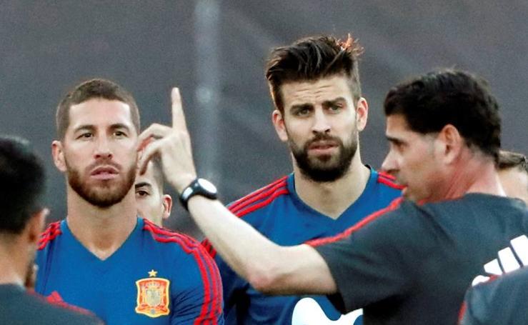Hierro toma las riendas de la selección española