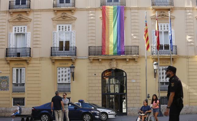 La Diputación retira el cartel que pedía la financiación justa para los valencianos