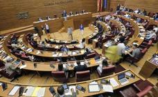 Les Corts aprueba iniciar la reforma del estatuto de los expresidentes