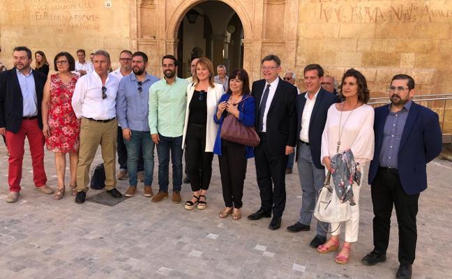 Cristina Narbona felicita al PSPV de Xàtiva por «recuperar la dignidad de la institución»