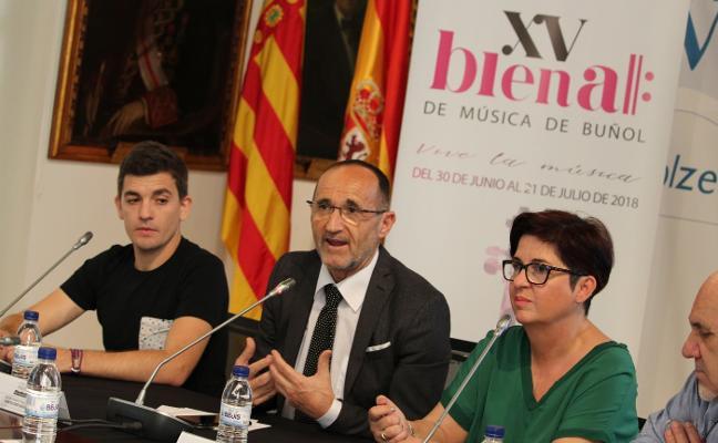 Arranca la XV Bienal de Música de Buñol