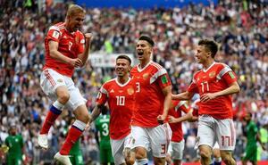 Gazinskiy, autor del primer gol del Mundial y del VAR