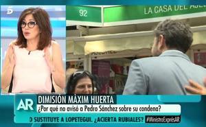 Ana Rosa: «Màxim tenía que dimitir»