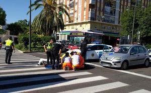 Dos nuevos accidentes en menos de 18 horas vuelven a poner en cuestión la seguridad en la avenida del Cid
