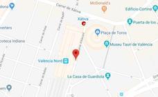 Herida una mujer de 70 años al ser atropellada por un ciclista en Valencia