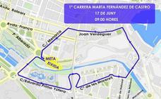 Calles cortadas en Valencia hoy por la I Carrera Marta Fernández de Castro