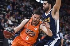 Van Rossom renueva con el Valencia Basket hasta 2020