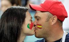 El calor, el humor y el amor del España-Portugal