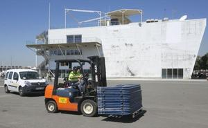 El operativo de Cruz Roja para recibir a los inmigrantes del Aquarius movilizará a más de mil personas