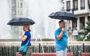 ¿En qué puntos de la Comunitat amenaza la lluvia este fin de semana?